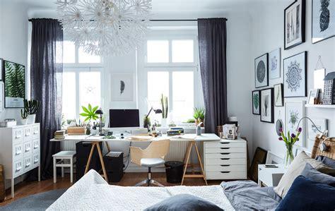 schlafzimmer wohnzimmer gleichzeitig atelier schlafzimmer arbeiten im schlaf ikea