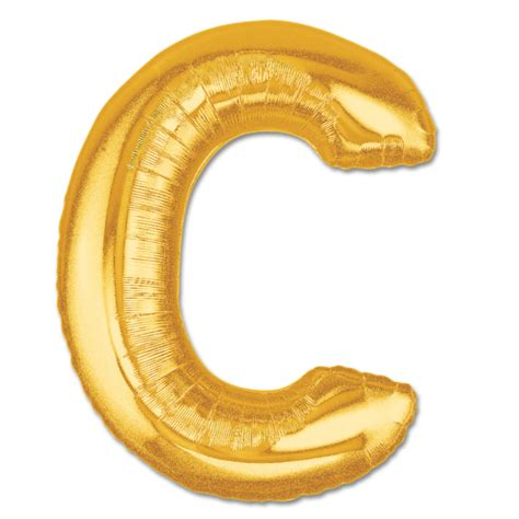 mylar letter balloons letter c gold foil balloon 40 inch inflated balloon shop nyc