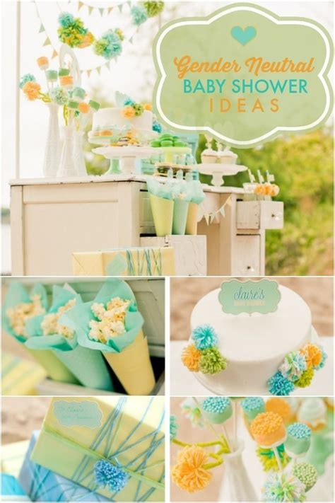 Colors For Baby Shower by A Stunning Gender Neutral Baby Shower Baby Shower