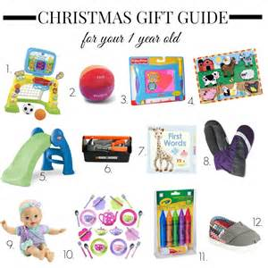 pictures on christmas gift ideas for one year old easy