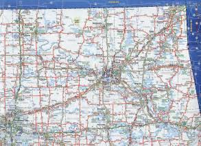 odot 2007 highway map northeast oklahoma