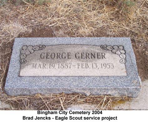 Salt Lake City Utah Birth Records Utgenweb Salt Lake County Bingham City Cemetery