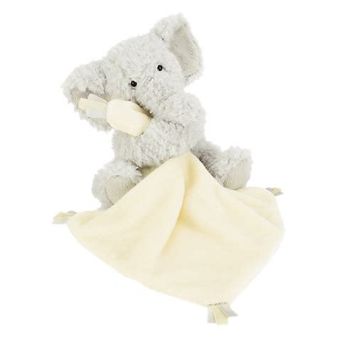 elephant comforter toy buy jellycat elly elephant baby soother soft toy john lewis
