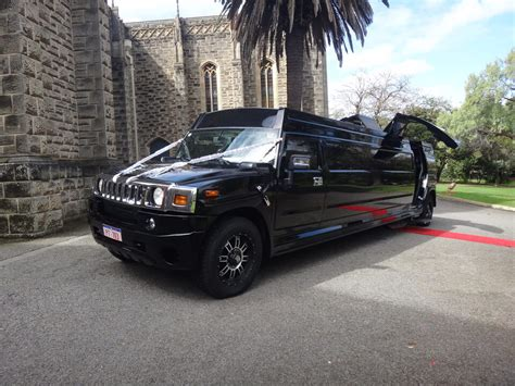 stretch hummer limousine wedding limousines perth 16 seater batman stretch hummer