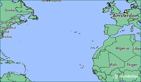 where is amsterdam on the map where is amsterdam the netherlands amsterdam
