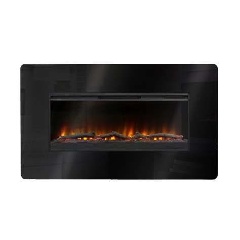 Wall Mounted Electric Fireplace Muskoka Mh57bl Wall Mount Electric Fireplace Atg Stores