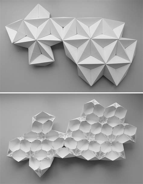 Paper Folding Shape - fold it up tent 2014 on behance