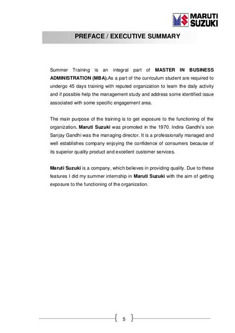 Mba Project Report Maruti Suzuki Pdf by Sip Report Of Crm On Maruti Suzuki