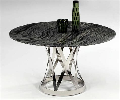 black marble round top modern dining table contemporary extravagant round glass top marble italian 5