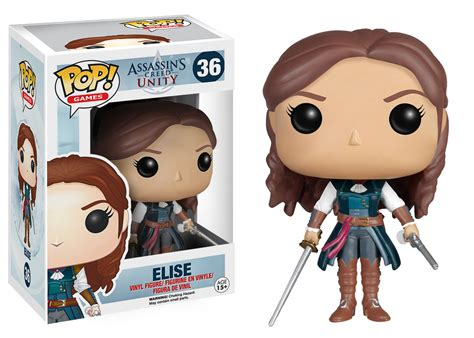 Funko Elise Pop Vinyl 5254 assassin s creed pop vinyl figure elise archonia us