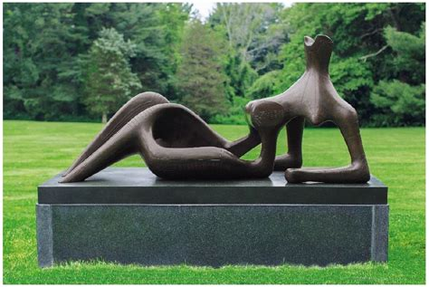 Reclining Figure Sculpture by Henry Sculpture At Christie S 250th Anniversary