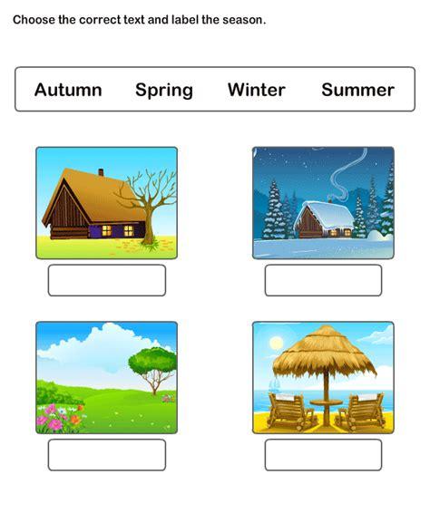 free printable worksheets learn season worksheets