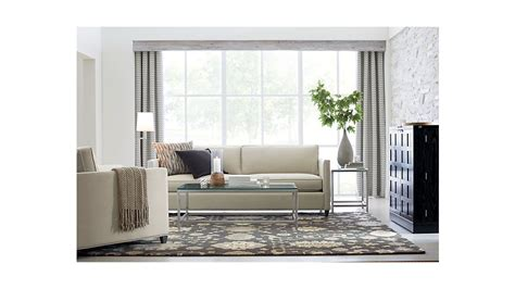 Can You Use Crate And Barrel Gift Card At Cb2 - dryden grey modern sofa crate and barrel