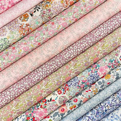 Patchwork Material Packs - liberty patchwork fabric pack billow fabrics