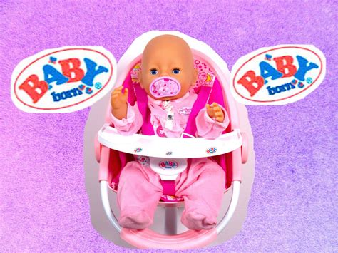 Baby Born Doll High Chair by Baby Born Pink High Chair Baby Doll Furniture Baby Born
