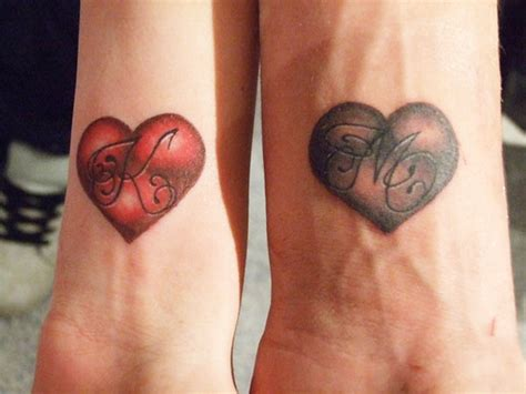 cool matching couple tattoos awesome design ideas for couples matching