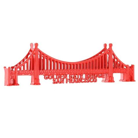 Souvenir Amerika Tempelan Magnet San Francisco golden gate bridge souvenir magnet