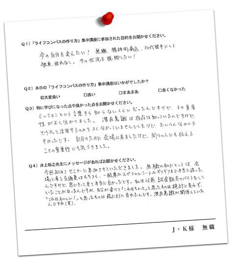 Voice 11 Lc 井上裕之 compassキックオフセミナー2016 最高の未来につながる人間力