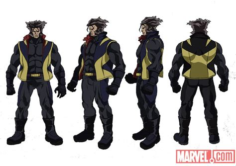 Hoodie Xmen The Wolverine 10 Anime anime poster and character designs geektyrant