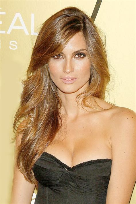 brunette hairstyles wiyh swept away bangs deep side part bangs and brunettes on pinterest