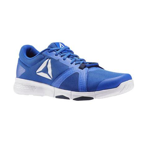 Sepatu Reebok Pria jual reebok flexile mens shoes sepatu lari pria blue