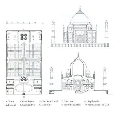 floor plan of taj mahal taj mahal section plan of the taj mahal architecture