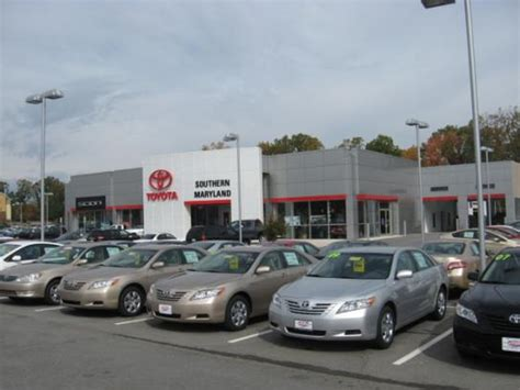 Toyota Dealers In Maryland Toyota Of Southern Maryland Park Md 20653 Car