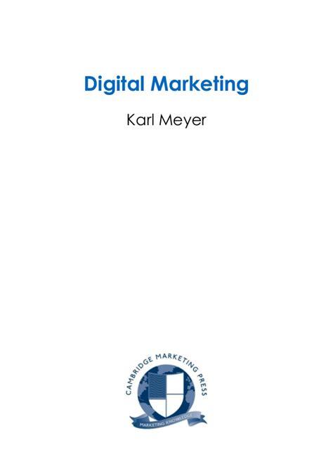 Digital Marketing Certificate Programs 1 by Certificate Guide Digital Marketing Sle Chapter
