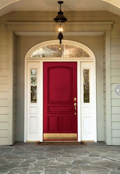 Front Door Makeover Ideas Ravishing Forever Known As A Bold Colour In The World Of Fashion Paint Or
