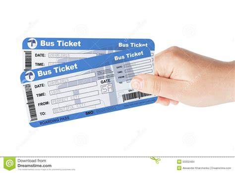 couch tickets bus tickets holded by hand stock photo image of access