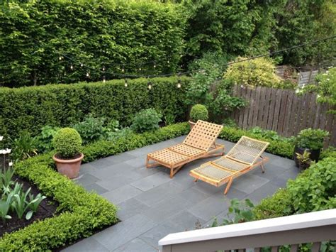 Creating Privacy In Small Backyard by