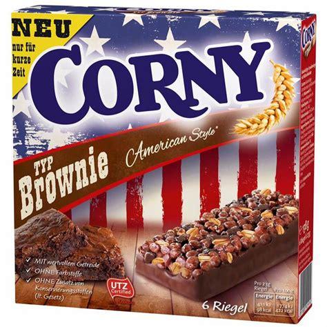 american style 6 corny typ brownie american style 6 riegel kaufen