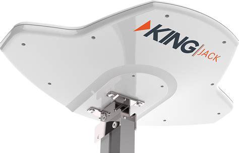 amazoncom king sl surelock tv antenna signal meter