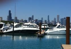 martini party boat chicago in water boat show