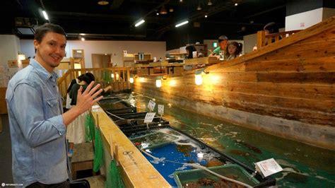 fishing boat restaurant japan fish it yourself restaurant in tokyo reformatt travel show