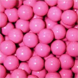 bulk by color sixlets pink 2lb