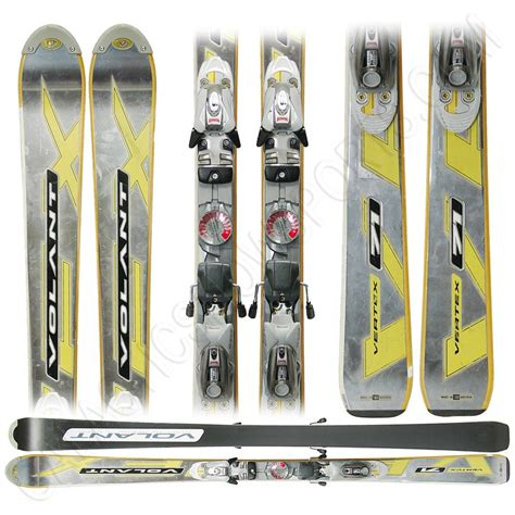 volant skis used volant vertex 71 skis with marker bindings
