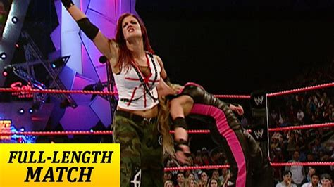 trish stratus matches full length match raw trish stratus vs lita women s