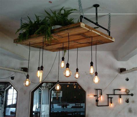 lampara techo colgantes vintage industrial en
