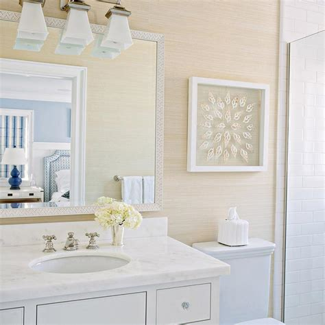 grasscloth wallpaper bathroom tan bathroom with tan grasscloth wallpaper