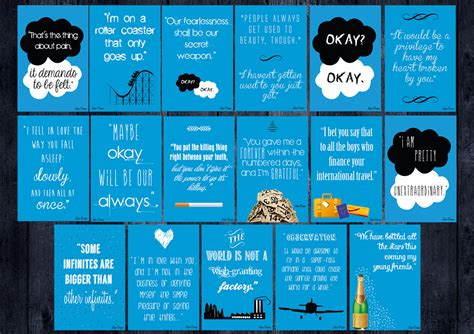 theme quotes in the fault in our stars the fault in our stars by john green discussion with