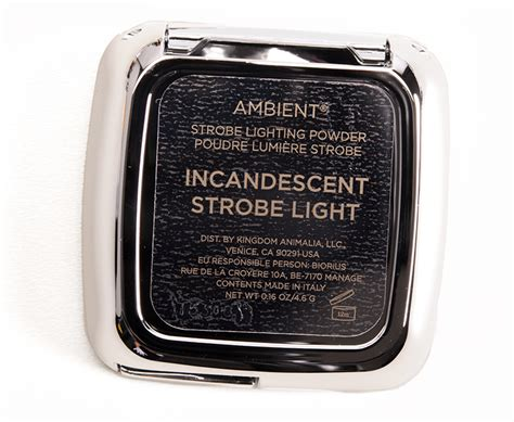 hourglass strobe lighting powder hourglass incandescent strobe light ambient strobe