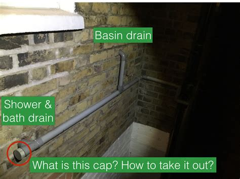 bathroom blockage clearing bathroom drainage bath s water flooding shower home improvement stack exchange