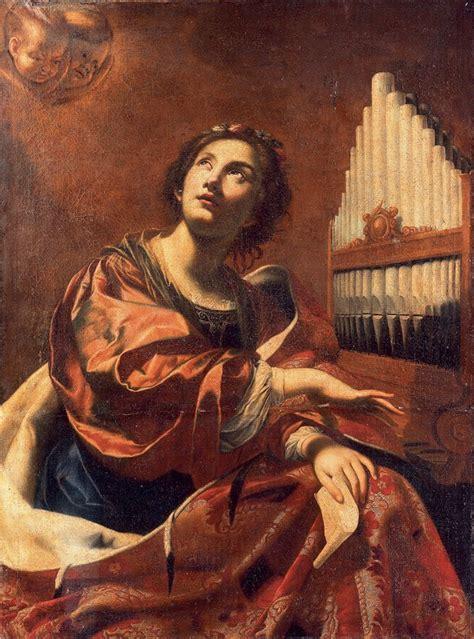 Caroline Picard by Atelier De Simon Vouet Paris 1590 1649 Sainte C 233 Cile