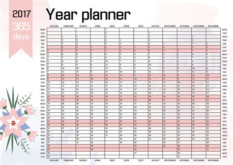time design planner year wall planner plan out your whole with this 2017