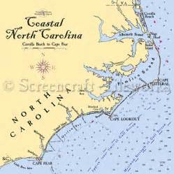 carolina the carolina coast nautical chart