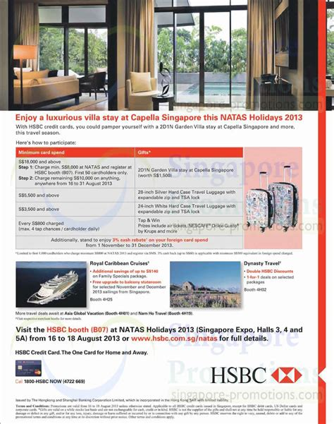 Royal Caribbean Gift Card Discount - 15 aug hsbc credit cards spend n redeem dynasty travel royal caribbean cruises
