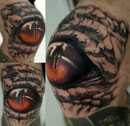 eyeball tattoo on knee tatuajes p 225 gina 424 mediavida