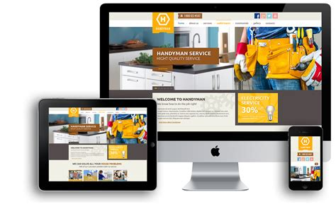 Download Free Services Website Template Palmanager Free Service Website Templates