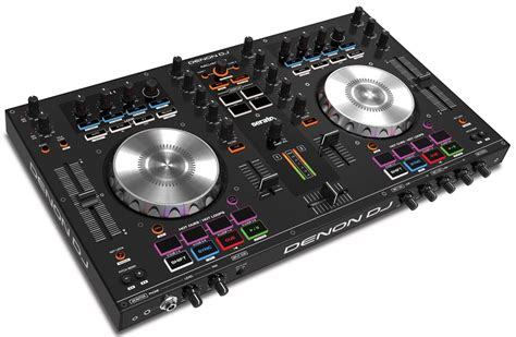 tavola da dj denon ds 1 y mc4000 para serato dj hispasonic